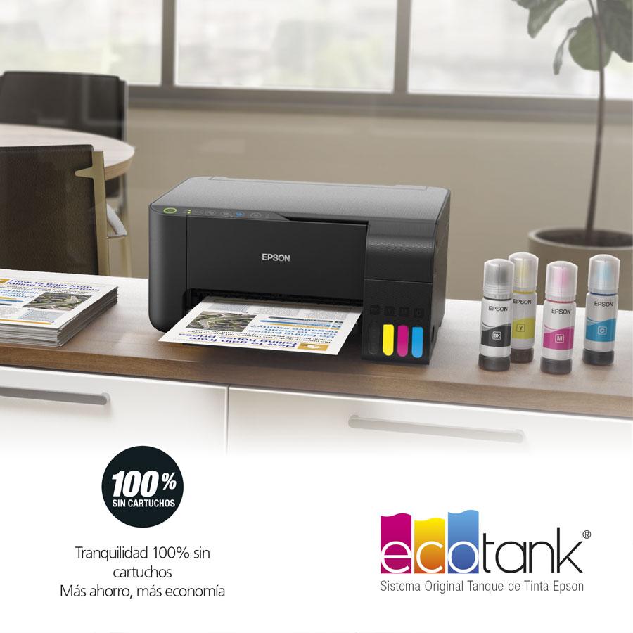Epson Multifuncional Tinta Continua EcoTank L3150 WiFi-Direct | PC